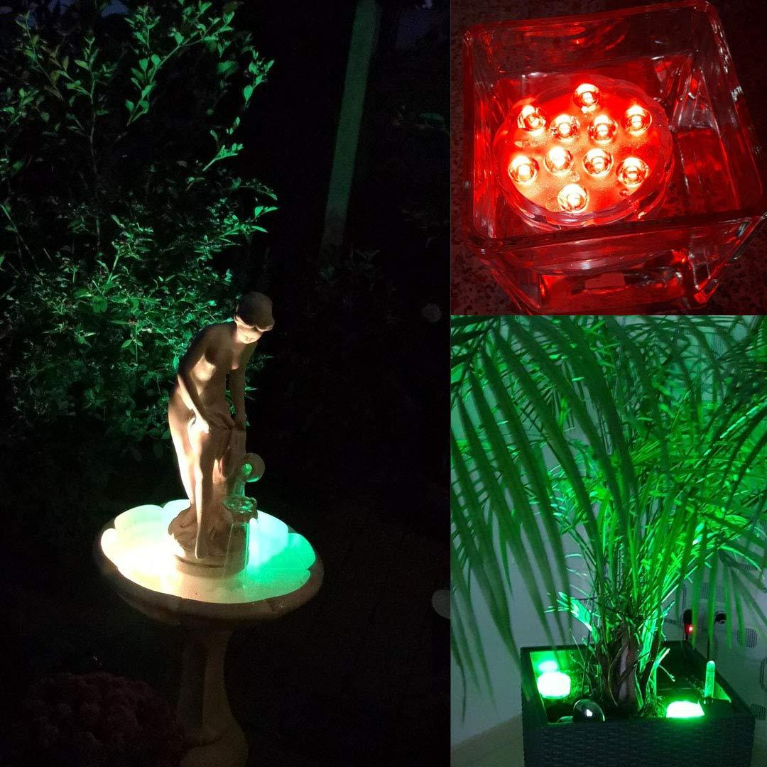 planschbecken freibad pool zubehör brunnen licht für schwimmbad und gartenbrunnen led lampen gartendeko für zimmerpflanzen vase Base und garten pflanzen blumen blumentopf teich lampe für gartenteich