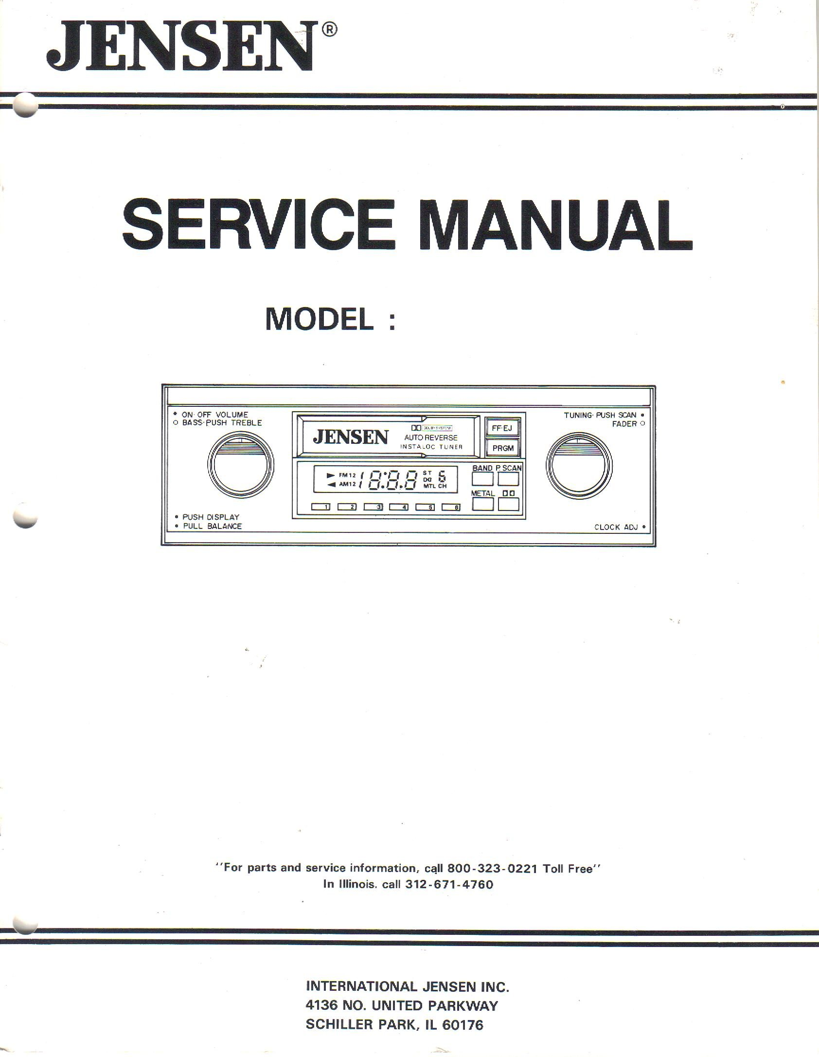 Jensen MODEL EQA-110 Graphic Equalizer, Service Manual Guide ... on equalizer circuit diagram, car audio diagram, equalizer and amp diagram, equalizer amp wiring, equalizer schematic,