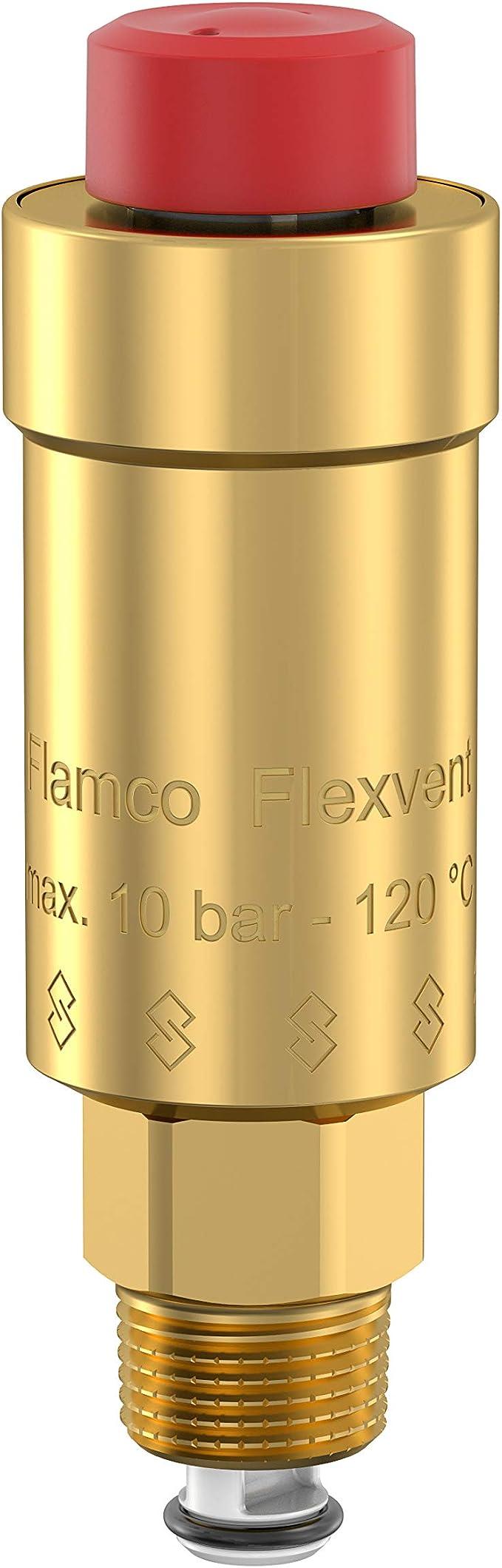 Flamco Flexvent 3//8 Purgeur dair avec vanne disolement S/éparateur air automatique 27750