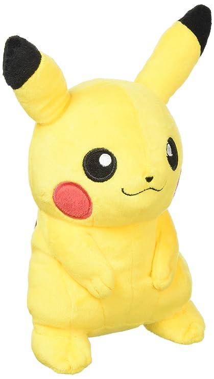 amazon com sanei pokemon all star series pikachu stuffed plush 7