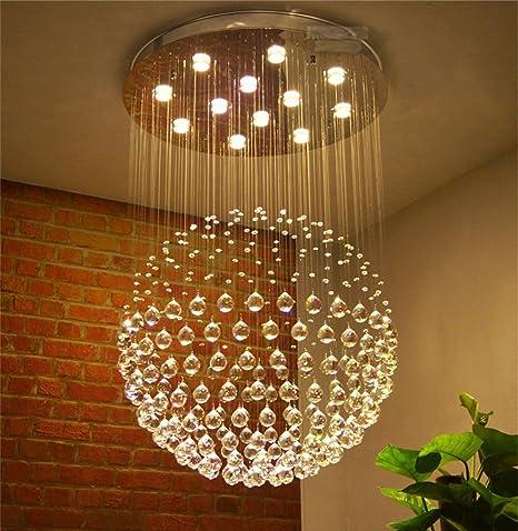 Lampadari Rotondi Moderni.Lampadario A Cristallo Del Led Lampadari Moderni Di