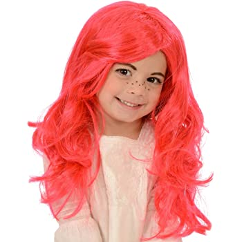 Kangaroo Childs Strawberry Girl Costume Wig
