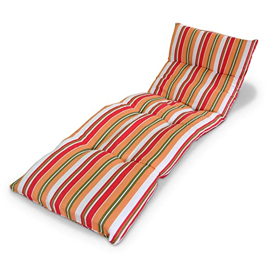 Domi Madrid Sl Doyomi Cojín Colchón Para Tumbona O Mueble Para Jardín Playa Exteriores Terraza Recambio De Cojín Para Tumbona Medidas 180x50x8cm