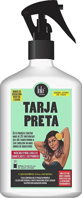 Amazon.com : Linha Tarja Preta Lola - Queratina Vegetal ...