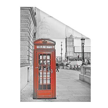 Lichtblick Fensterfolie Selbstklebend Sichtschutz Motiv London