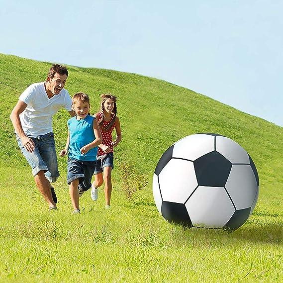 AMhuui Soccerball Inflable Gigante, Juguete Grande de la Piscina ...