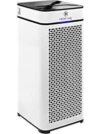 Medify MA-40 Medical Grade True HEPA Air Purifier That Easily Covers 800 Sq. Ft. | 330 CADR | Particle Sensor, Modern...