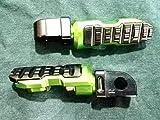 バイクパーツセンター ジョグ ボードフットレスト 樹脂 黒 ステップレスト ヤマハ ジョグ 3KJ  308005