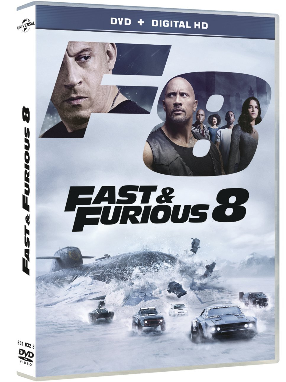 The Fate Of The Furious 2017 PAL MULTi DVDR-STR4NGE