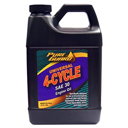 Amazon.com: Puro Aceite De Guardia universal 4-cycle, Sae 30 ...