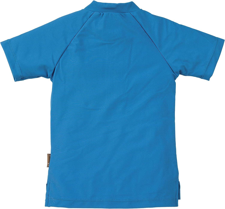Sterntaler Unisex Kinder Kurzarm-Schwimmshirt Rash Guard Shirt