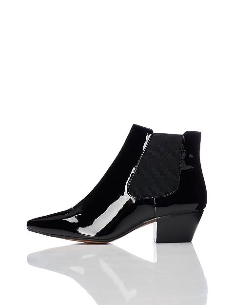 Para Amazon Mujer Zapatos Metalizados es Botines Y Complementos Find SHqwxE7S