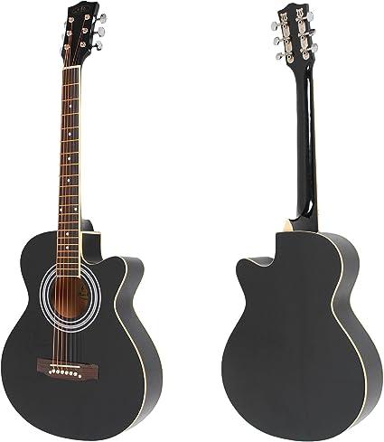 ts-ideen 4513 - Guitarra acústica con corte cutaway: Amazon.es ...