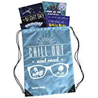 Summer Bridge Activities - Essentials Backpack with Workbook, 4 Reading Books, Flash Cards and Drawstring Bag for Summer Learning Loss, Grades 2 - 3