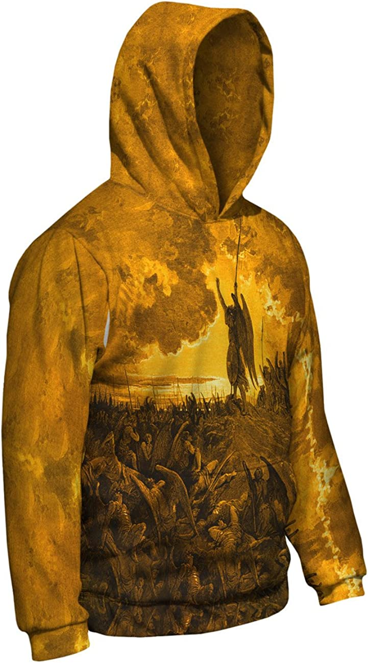 Mens Hoodie 2186 Yizzam- Gustave Dore Paradise Lost 3 Go Allover Print