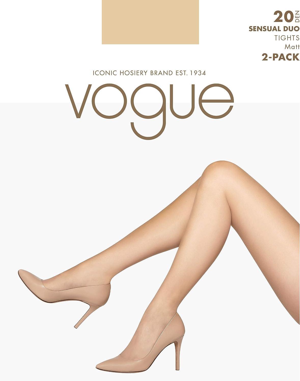 Vogue Sensual Duo Matt Tights 20 Denier Skin Colour For Women 2 Pairs Beige 7 10 Amazon Co Uk Clothing
