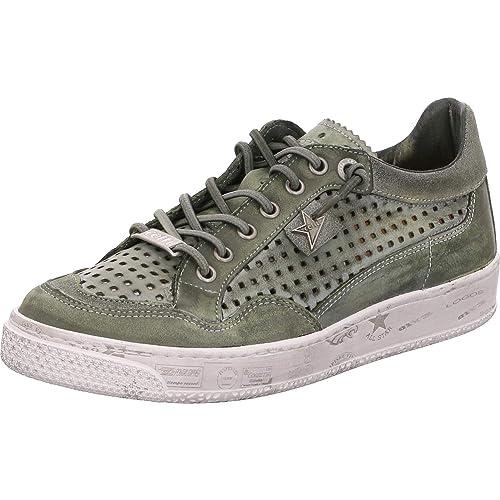 Cetti - Zapatillas de Cuero Mujer, Color Verde, Talla 42 EU: Amazon.es: Zapatos y complementos