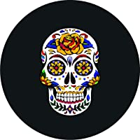 customgrafixtirecoverstm Sugar Skull Tire Cover 66cm–88,9cm