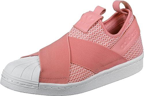 Adidas  Damen Superstar Slipon W Fitnessschuhe, Schwarz  Adidas Amazon  ... fa54bc