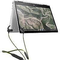 HP Chromebook x360 12-Inch Ultra-Light Touchscreen with Bluetooth Headset (Intel N4000/4GB/64GB eMMC SSD/100GB Cloud storage/Chrome OS/Backlit/Natural Silver/1.3kg), 12b-ca0006TU (12b-ca0006TU + Neckband)