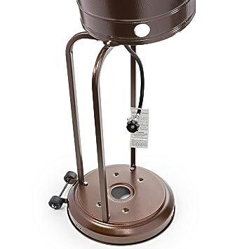Amazon.com: Thermo Tiki - Calefactor de patio exterior con ...