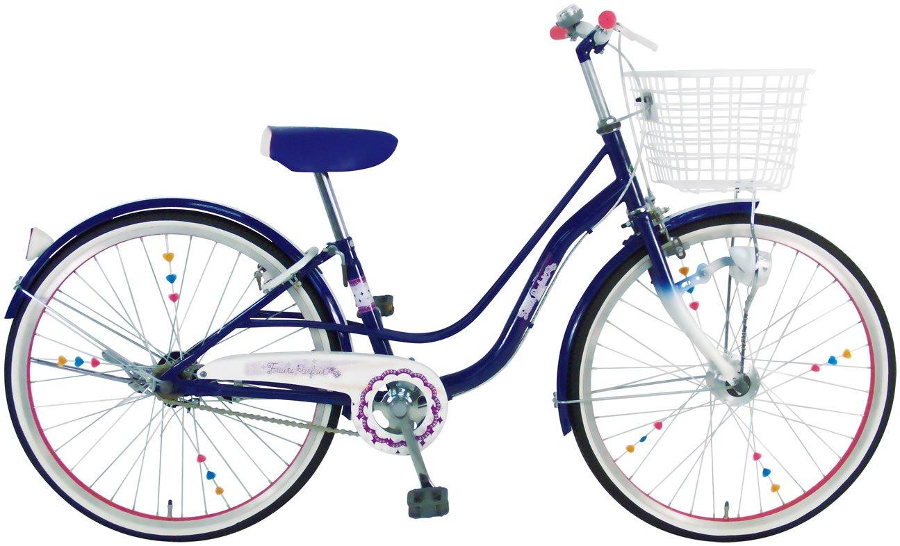 C.Dream(シードリーム) フルーツパフェ FP21-H 22インチ 子供自転車 ネイビー 100%組立済み発送 B072PXJB91