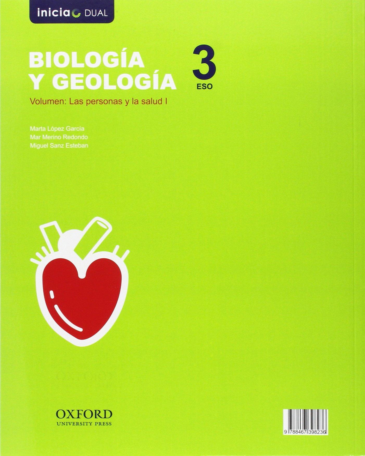 Inicia Biología Y Geología Serie Arce 3 º Eso Libro Del Alumno Inicia Dual Spanish Edition Cabrera Calero Antonio M ª Sanz Esteban Miguel 9788467398212 Books