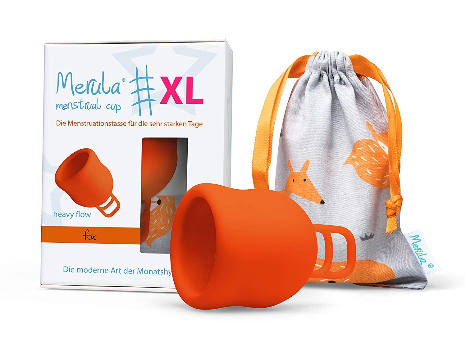 Merula Cup XL – The Menstrual Cup for The Very Strong Days