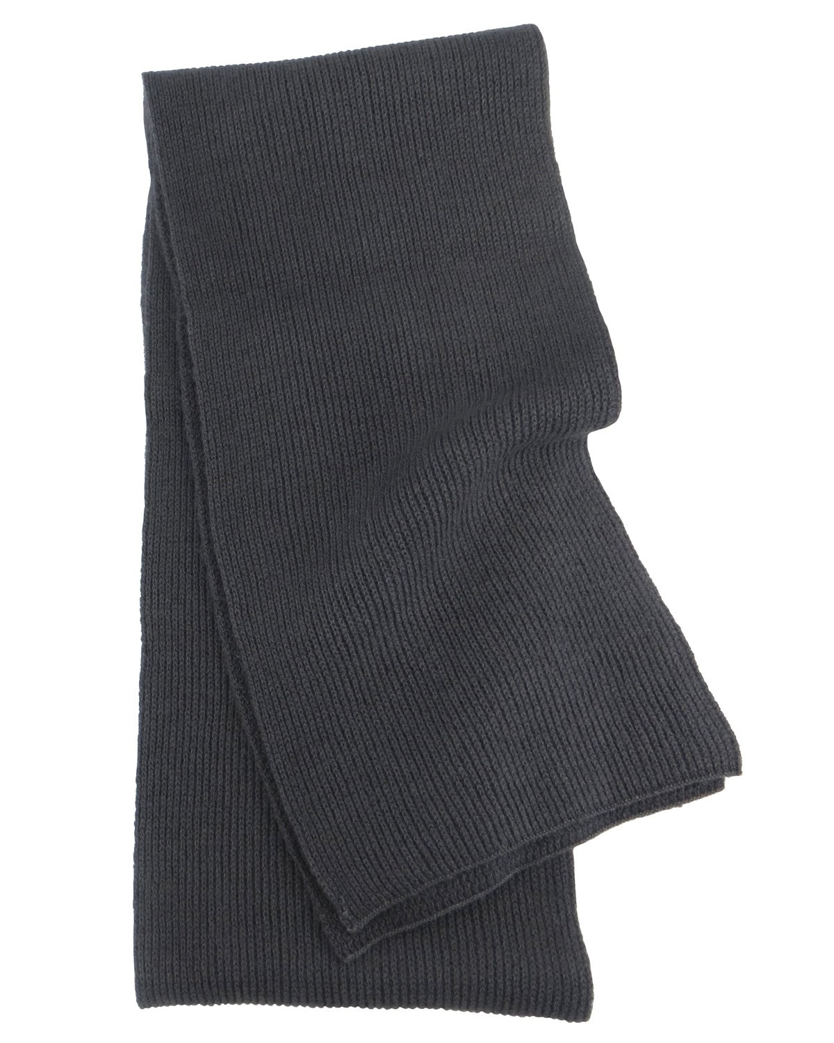 Pure Cashmere Scarf in Charcoal for Man