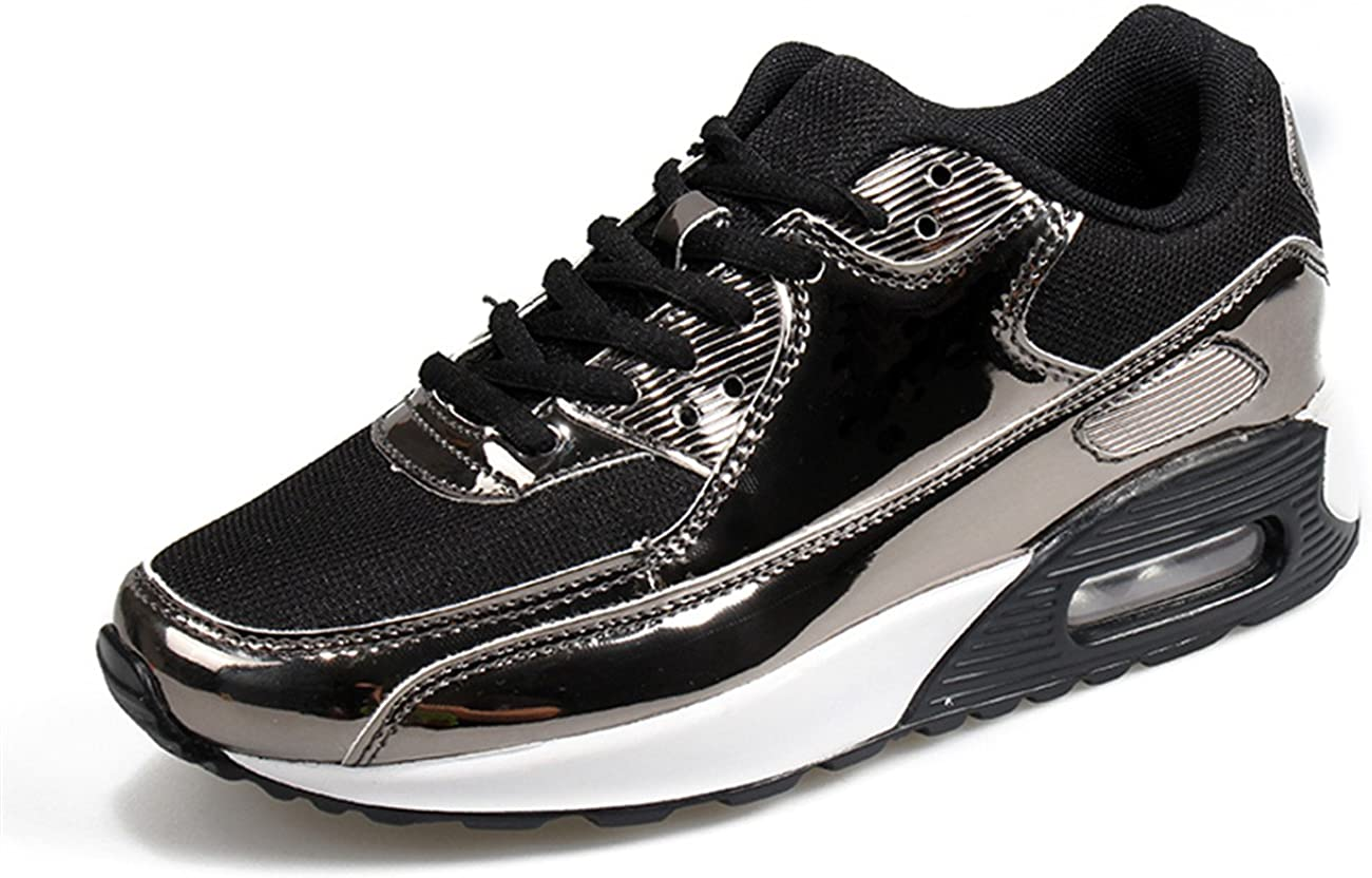 XINGLAN Men Women Unisex Couple Casual Running Sneakers Breathable Athletic Air Cushion Sports Shoes