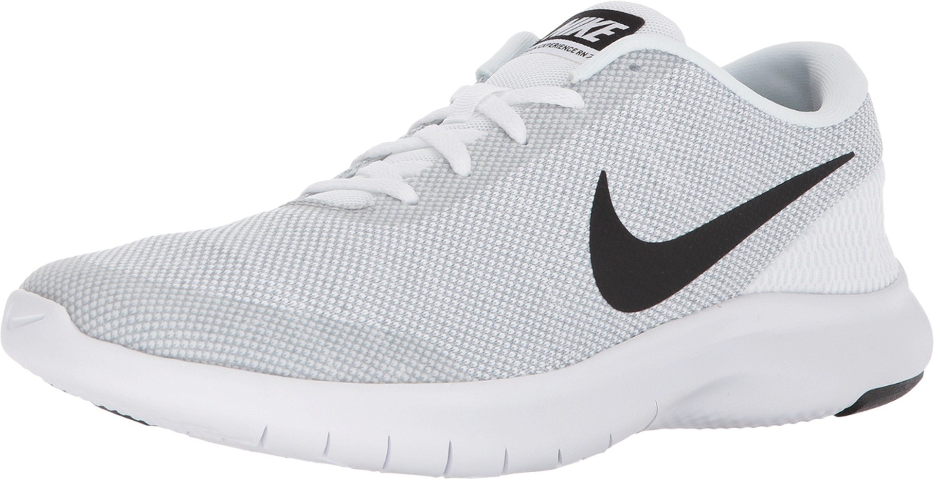 Nike Men's Flex Experience RN 7 Running Shoes (8.5 M US, White/Black-wolf Grey) by Nike