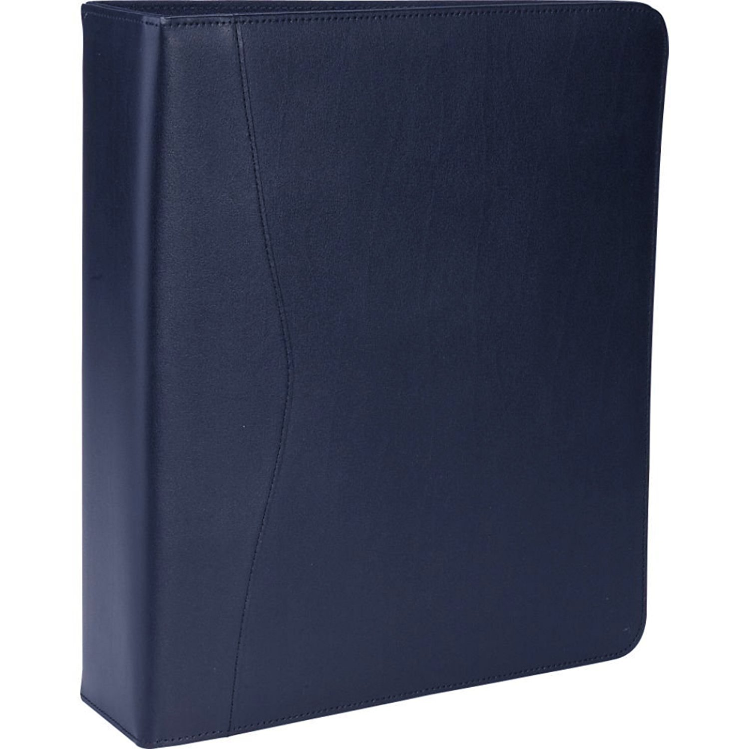 Royce Leather 2'' D - Ring Binder, Blue