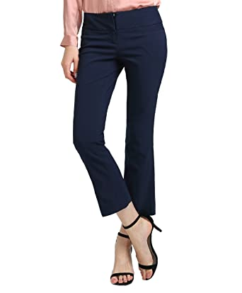 6715fea3d Image Unavailable. Image not available for. Color: ATOUR Women's Bootcut  Dress Pants Stretch Comfy Work Trousers Office Wear Casual Ladies Pant ...