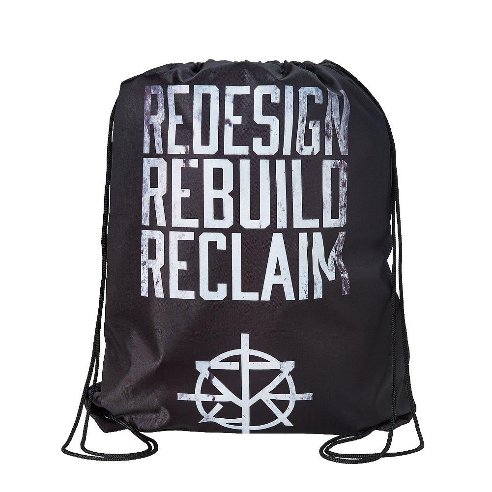 Seth Rollins Redesign Rebuild Reclaim WWE Drawstring Bag