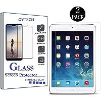GVTECH para iPad Mini/iPad Mini 2/ iPad Mini 3 Protector de Visualización de Vidrio, 0,33 m 2.5d Round Edge Vidrio Templado Protector de visualización para Apple iPad Mini 1 2 3[2 Pack]