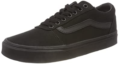 c6c690926c Vans Men s Ward Canvas Low-Top Sneakers  Amazon.co.uk  Shoes   Bags
