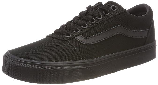 Zapatillas Vans Ward negras deportivas para vestir