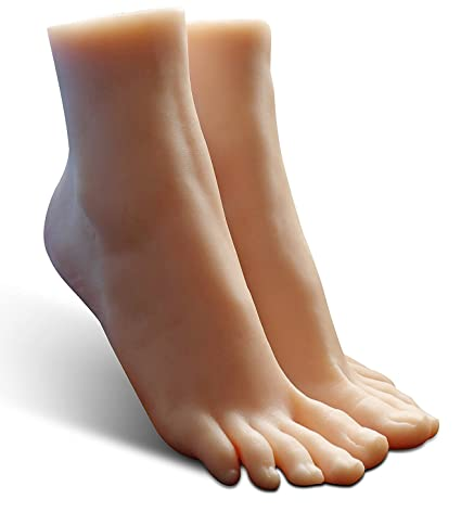 Amazon Com Silicone Foot Model Lifesize Female Mannequin Jewerly