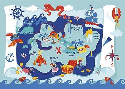 Kids Treasure Map Amazon.com: Silly Street   Treasure Map   Kids 48 Large Piece  Kids Treasure Map