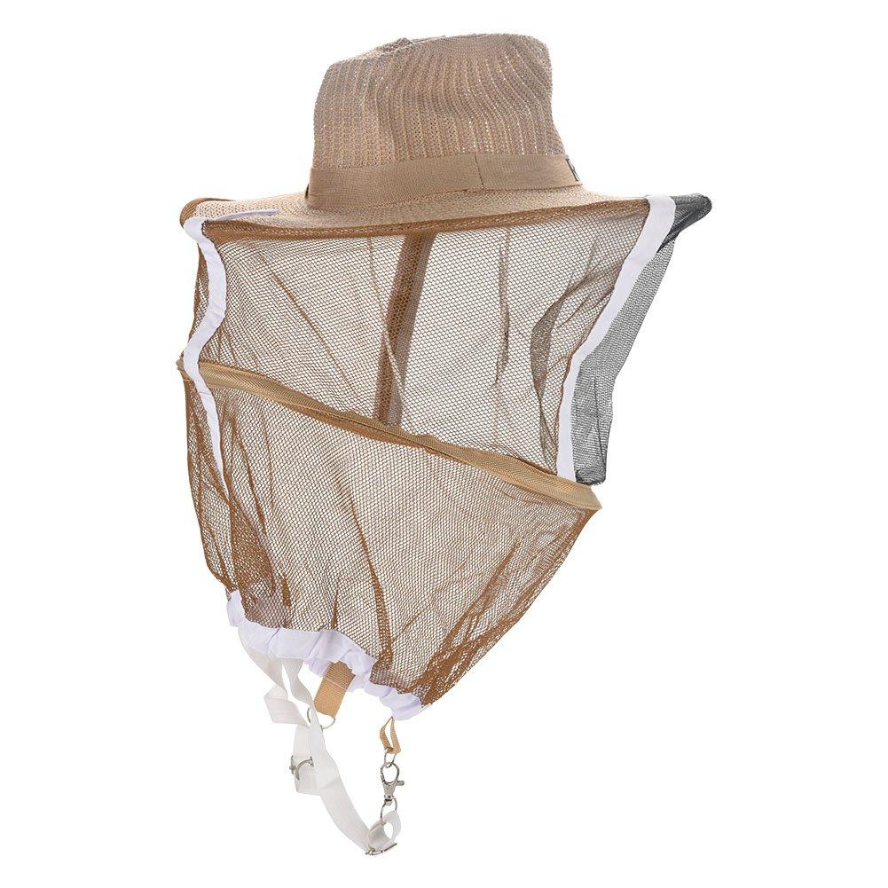 con il prezzo economico per ottenere la migliore marca Zerodis Cappello Cappello Cappello di velo apicoltore, cappello di apicoltore ventilato Velo da giardino guardia anti zanzara Api Bug Mask  grandi risparmi