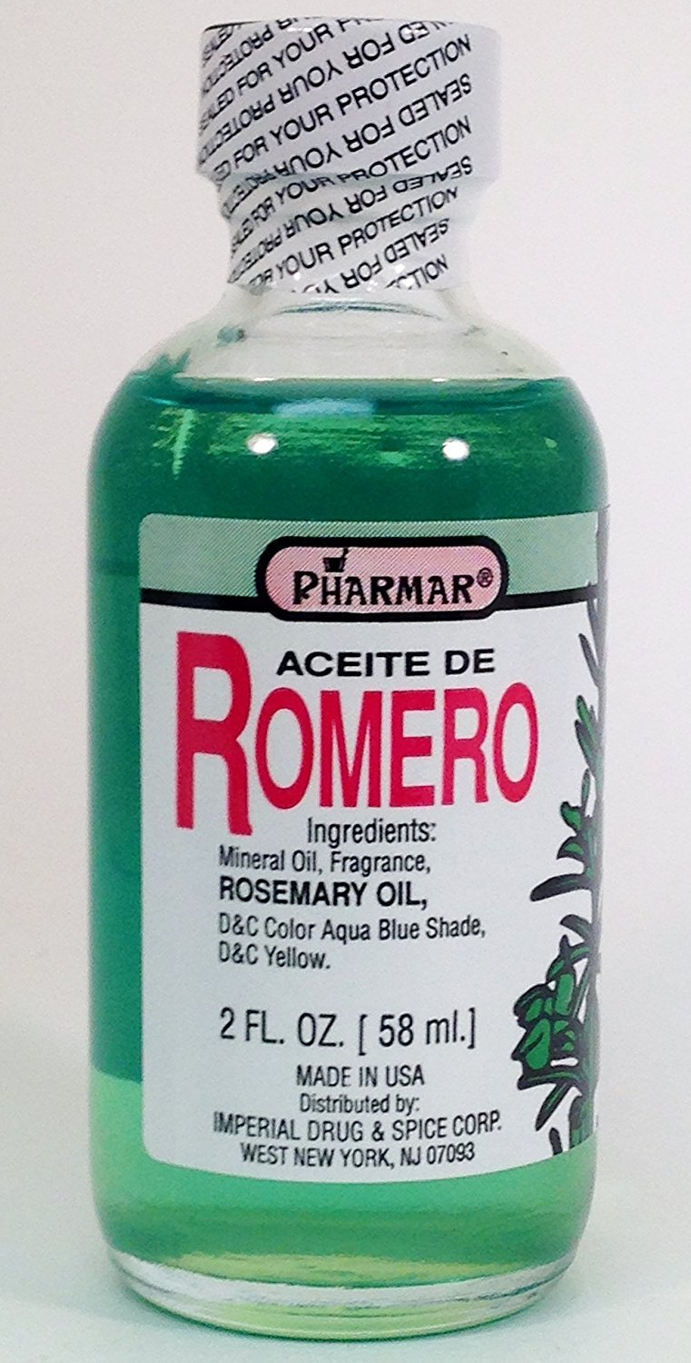 Aceite De Romero 2 Oz. Rosemary Oil