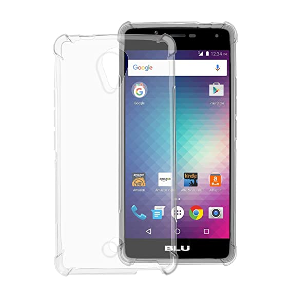 new arrival 55ddf a341e Amazon.com: BLU R1 HD CASE with Enhanced Corner Protection, [2 Pack ...