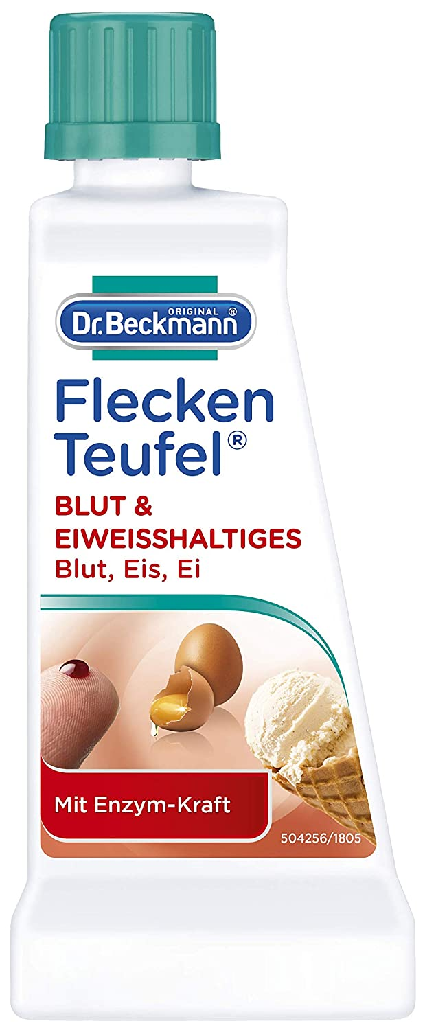 Dr. Beckmann Flecken Teufel Blut & Eiweihaltiges, 50ml by Unknown: Amazon.es: Hogar