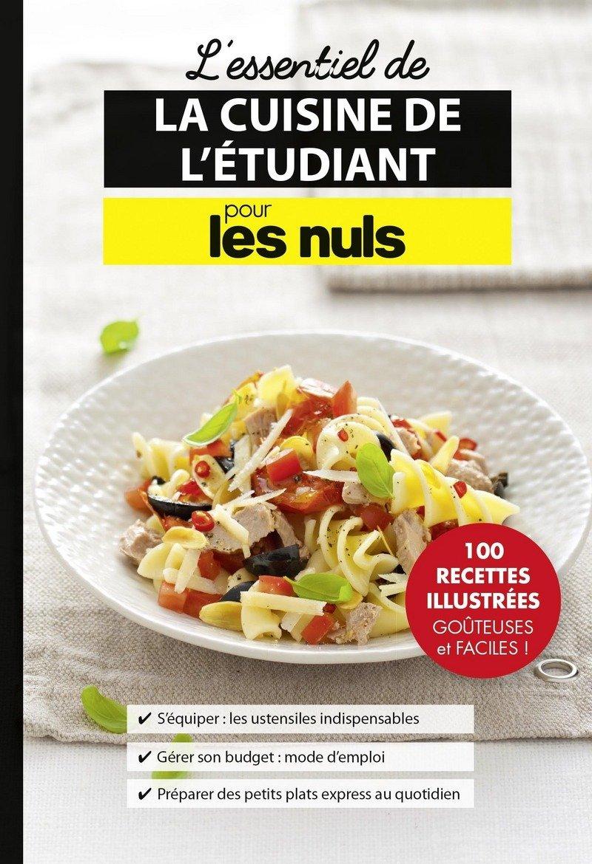 Petit Livre de - Cuisine de létudiant (LE PETIT LIVRE) (French Edition)