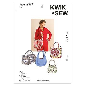 17030f2bb8 KwikSew Schnittmuster 3171 Taschen: Amazon.de: Küche & Haushalt