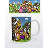 Super Mario Bros Characters Retro Vintage Video Game Gamer Ceramic Coffee Mug Tea Cup Fun Novelty Gift 12 oz