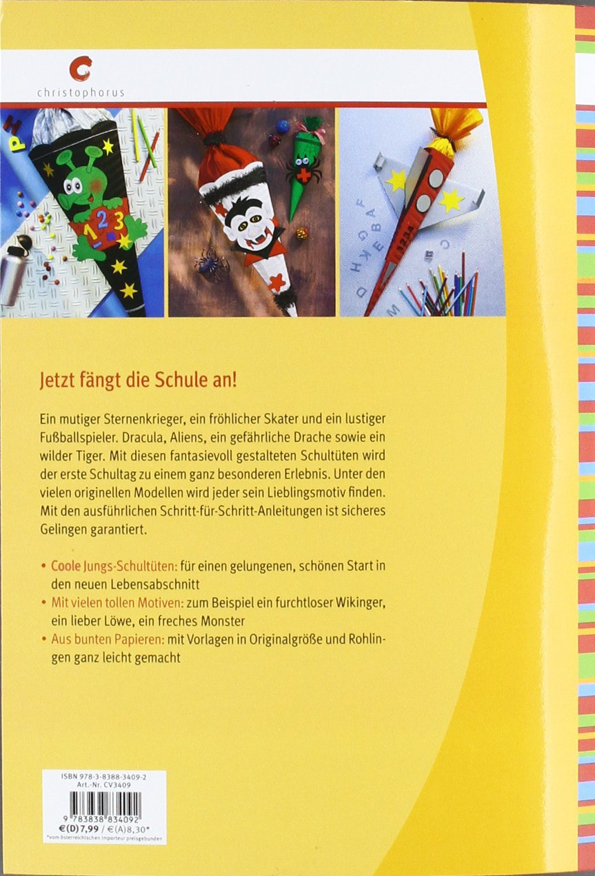 Schultuten Fur Jungen Amazon De Angelika Kipp Bucher