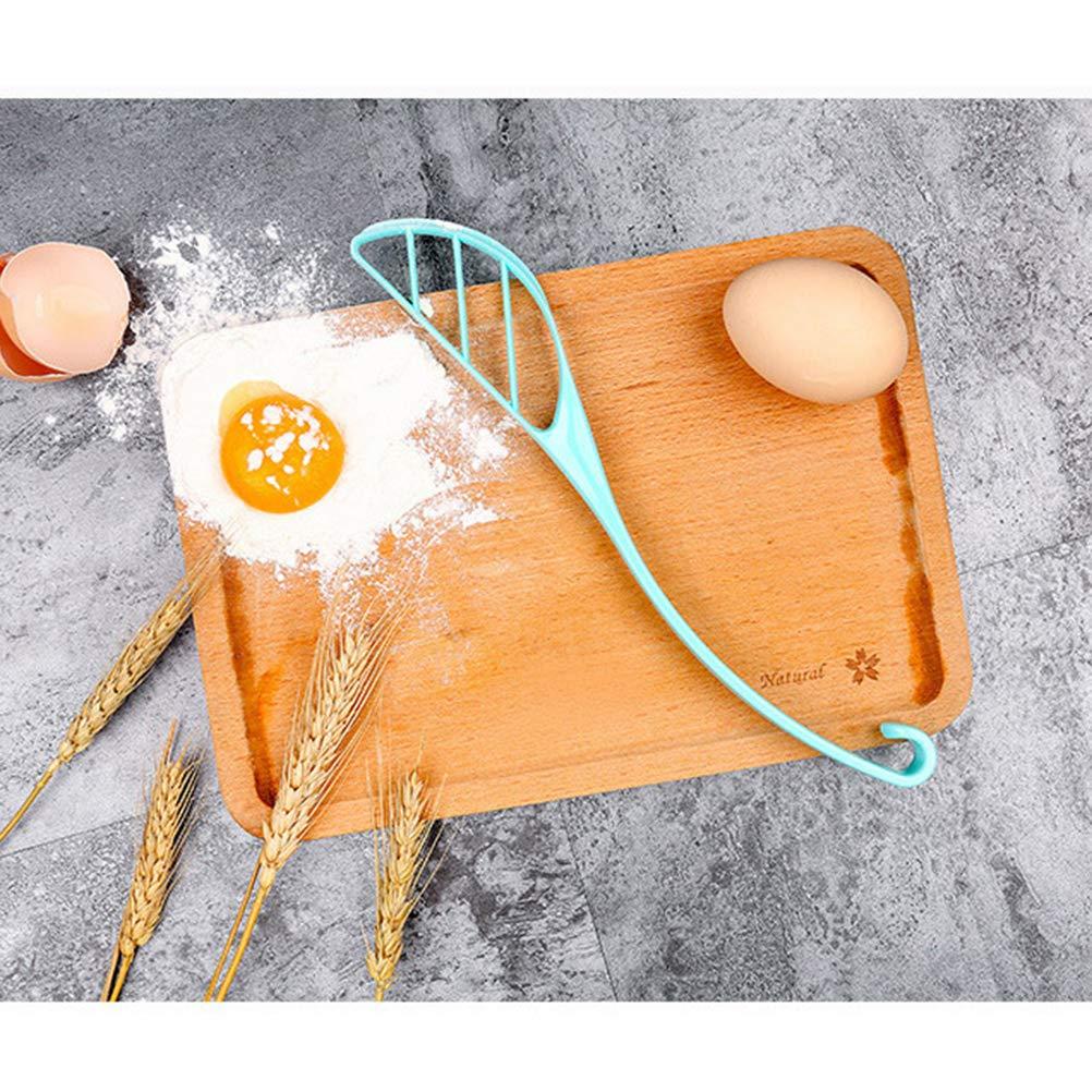 BESTONZON Batidora manual para batir huevos de leche, utensilios de cocina para mezclar agitador (color al azar): Amazon.es: Hogar