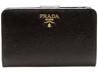 75384b94d31a Amazon | (プラダ) PRADA 財布 二つ折り レザー 1ML225 アウトレット ...