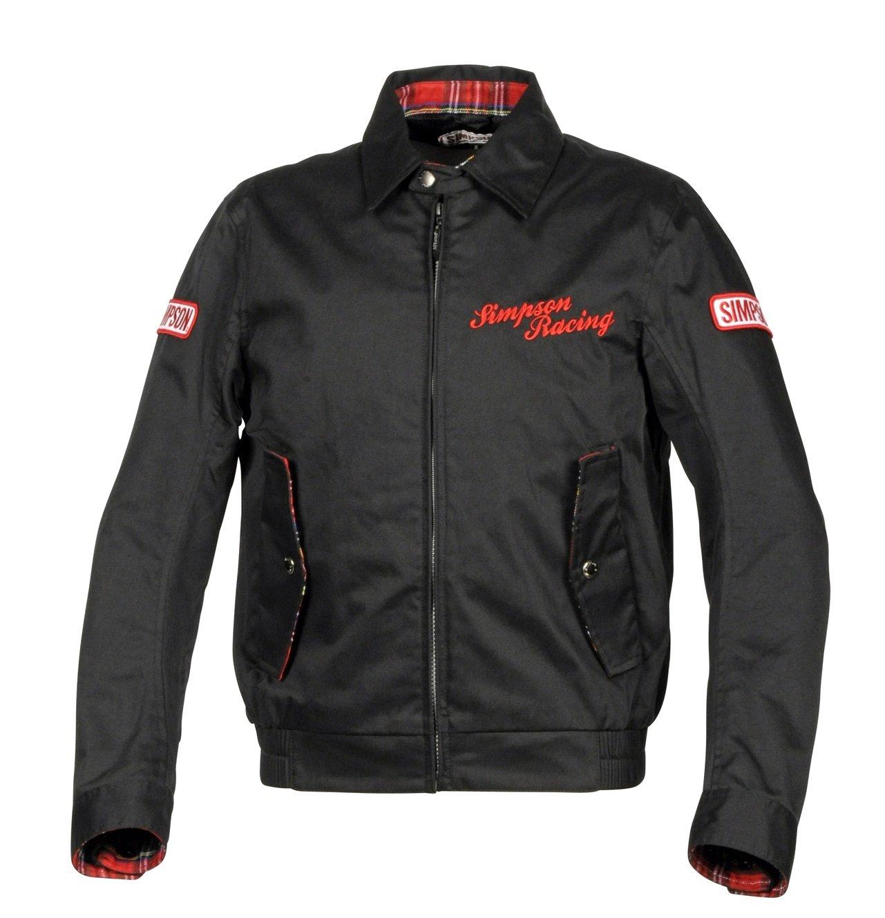 シンプソン(SIMPSON) バイク用ジャケット Cotton Jacket(コットンジャケット) インディゴ 3L SJ-8111 B079YHDSFK 3L